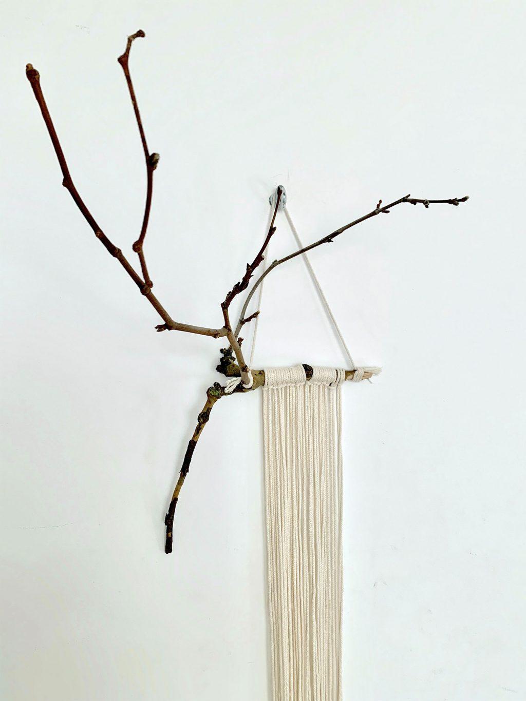 macramé hanger suspension plante vue bas - La Revue Vertu