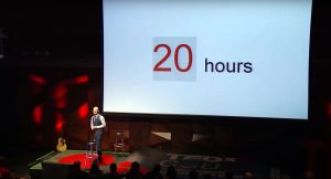 The first 20 hours -- how to learn anything | Josh Kaufman | TEDxCSU