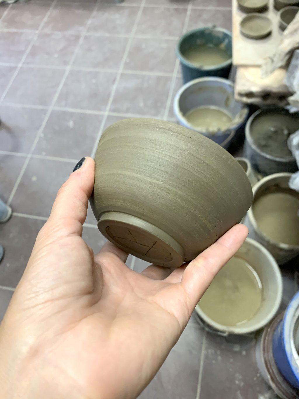 Mon bol tournassé - stage de poterie tournage paris Argilerie