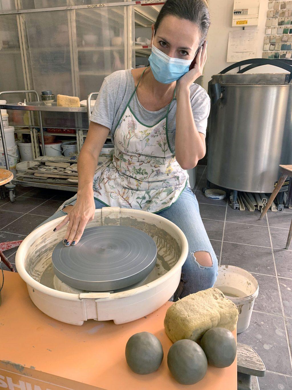 kakimix - stage de poterie tournage paris Argilerie