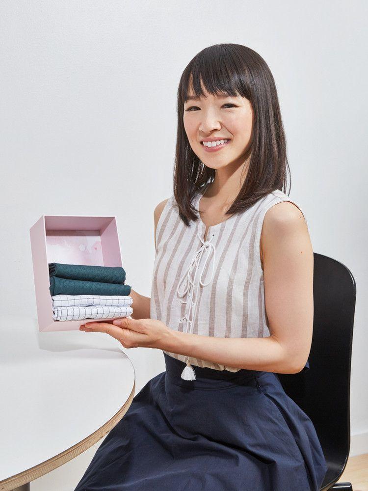 Marie Kondo et la méthode de rangement KonMari